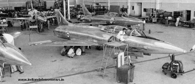 Image result for pics of HAL production line of Tejas